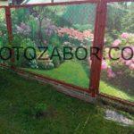 фотосетка на забор
